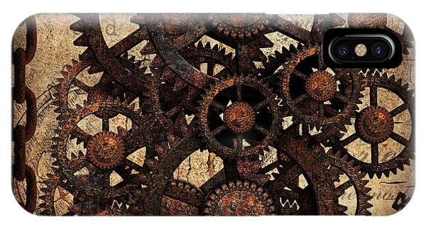 A Cog In The Machine That Governs Us IPhone Case