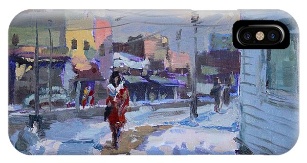 Cold iPhone Case - A Cold Afternoon In Tonawanda by Ylli Haruni