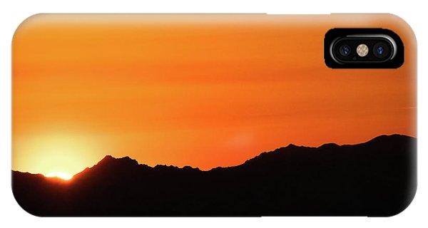 A Colorado Sunset IPhone Case
