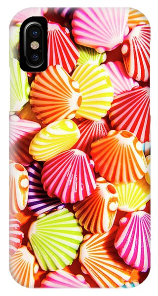 Colourful iPhone Case - A Colourful Beach Background by Jorgo Photography - Wall Art Gallery