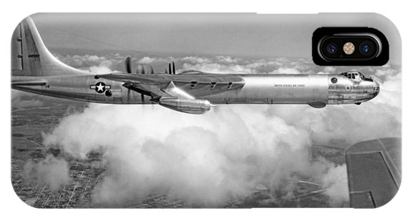 Bomber iPhone Case - A Convair B-36f Peacemaker by Underwood Archives