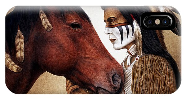 Native iPhone Case - A Conversation by Pat Erickson