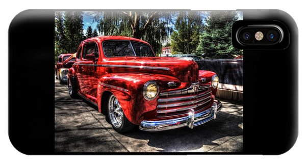 A Cool 46 Ford Coupe IPhone Case