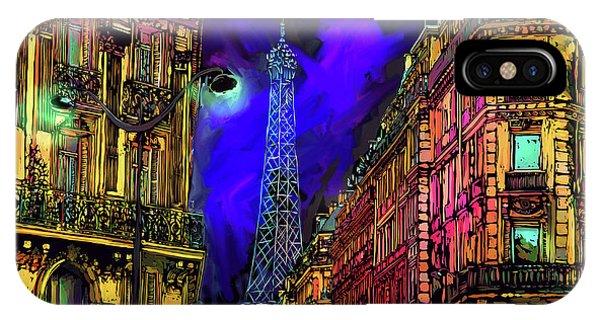 A Corner In Paris IPhone Case
