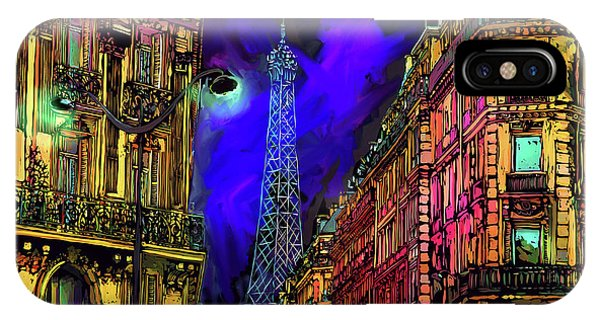 A Corner In Paris IPhone Case