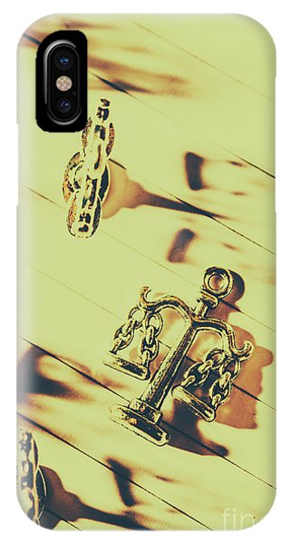 Trial iPhone Case - A Courthouse Judgement by Jorgo Photography - Wall Art Gallery