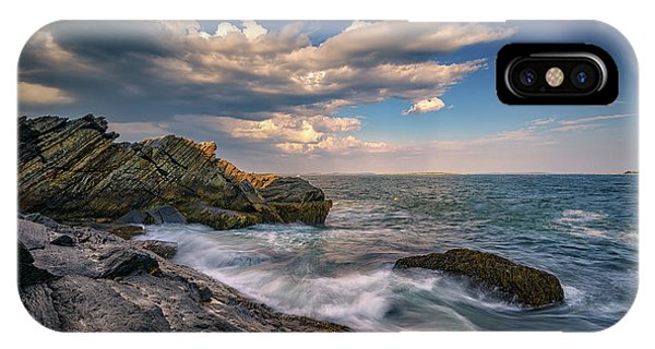 A Cove On Muscongus Bay IPhone Case