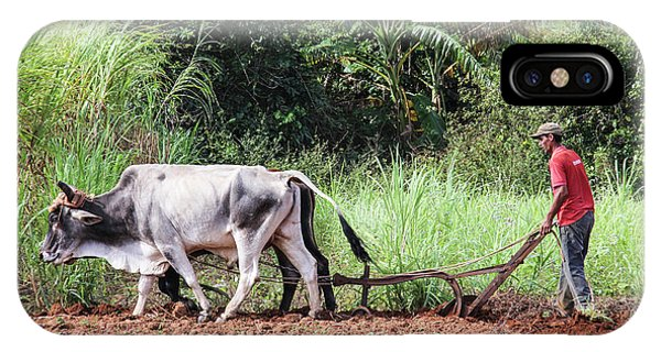 A Cuban Tractor IPhone Case