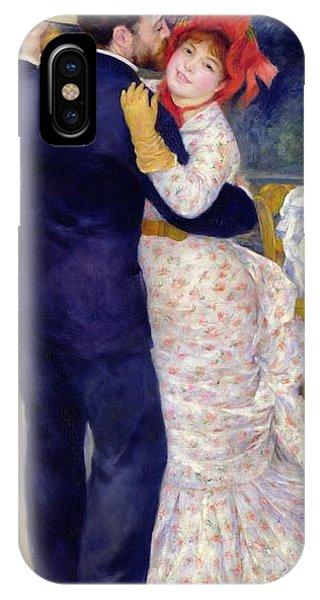 Dance iPhone Case - A Dance In The Country by Pierre Auguste Renoir