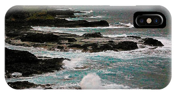 A Dangerous Coastline IPhone Case