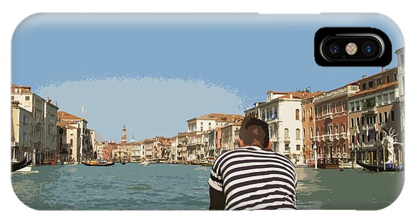 A Day In Venice IPhone Case