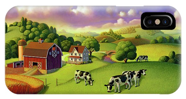 A Day On The Farm  IPhone Case