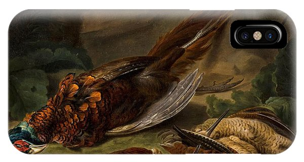 Woodcock iPhone Case - A Dead Pheasant by MotionAge Designs