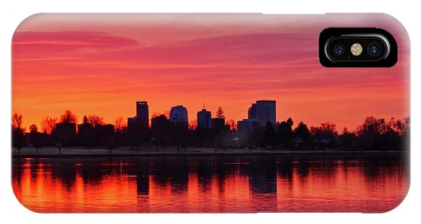 A Denver Morning IPhone Case