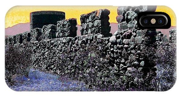 Silos iPhone Case - A Desert Host 2 by Glenn McCarthy Art and Photography