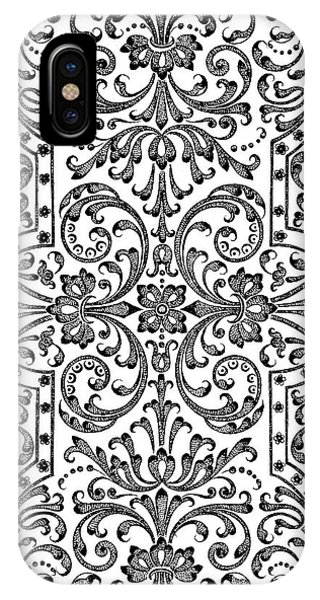 Pub iPhone Case - A Design For Parterre by Jacques Mollet