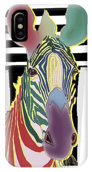 A Different Zebra IPhone Case