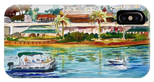 Florida iPhone Case - A Disney Sort Of Day by Laura Bird Miller