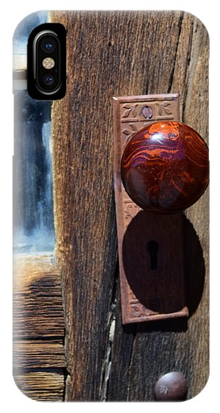 A Door To The Past IPhone Case