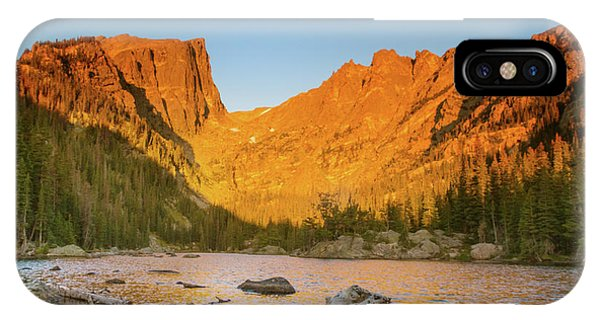 Rocky Mountain Np iPhone Case - A Dreamy Sunrise by Kunal Mehra