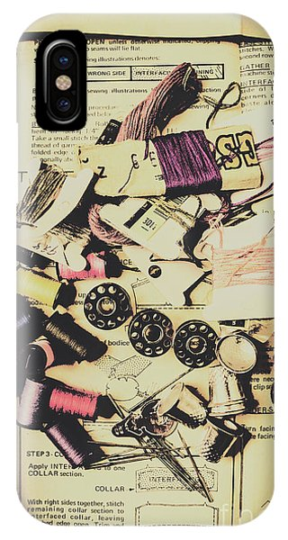 Needles iPhone Case - A-dressing Fashion Design by Jorgo Photography - Wall Art Gallery