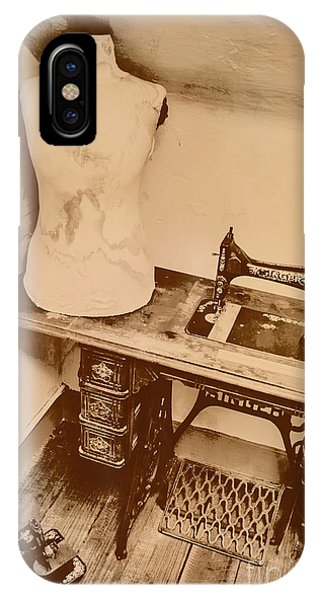 Craftsman iPhone Case - A Dressmakers Corner by Jorgo Photography - Wall Art Gallery
