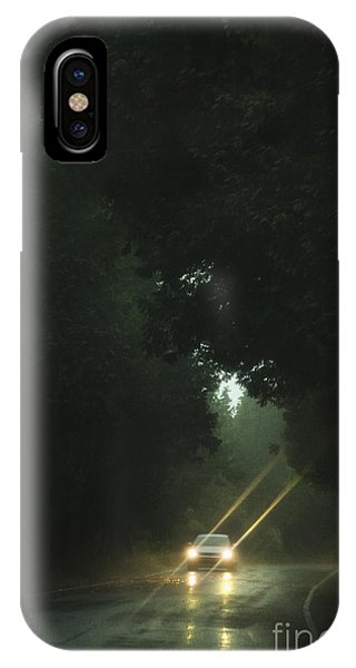 iPhone Case - A Drive In The Rain by Margie Hurwich