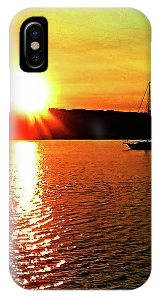 A Early Springtime Visit To Mystic Village In M IPhone Case