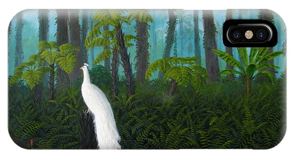 iPhone Case - A Fantasy In White by Mark Junge