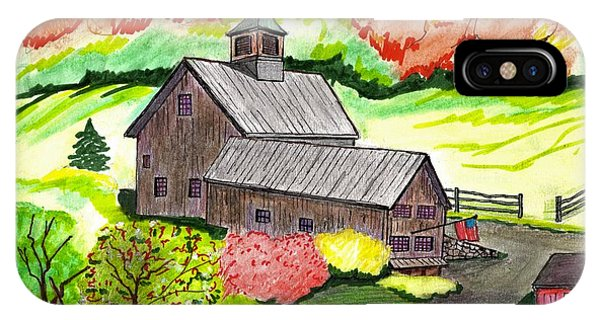 A Farm House IPhone Case