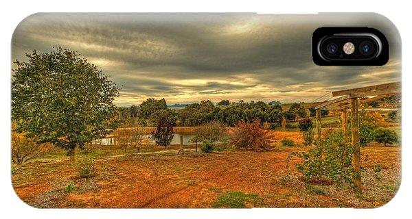 A Farm In Bridgetown, Western Australia IPhone Case