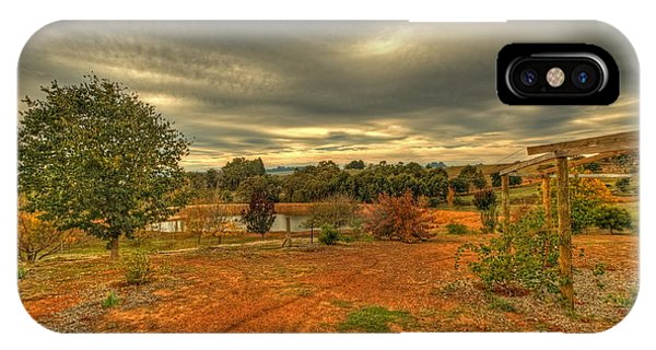A Farm In Bridgetown, Western Australia IPhone Case