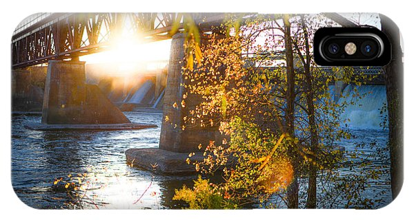 Blanchard Dam - A Favorite Place IPhone Case