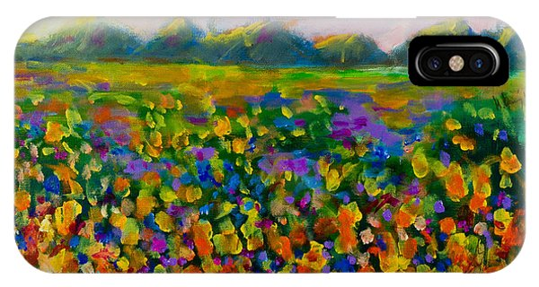 A Field Of Flowers #1 IPhone Case