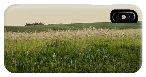 IPhone Case featuring the photograph A Field Of Grass by Sandy Adams
