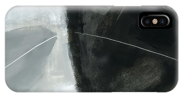 Panel iPhone Case - A Fine Line #1 by Jane Davies