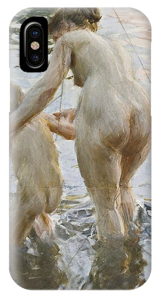 Impressionistic iPhone Case - A First by Anders Zorn