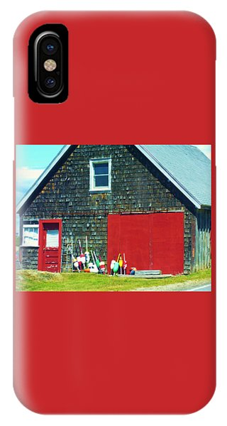 A Fisherman's Barn IPhone Case