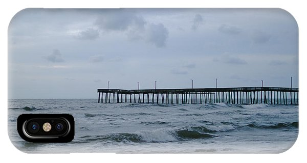 A Fishing Pier At Dawn IPhone Case