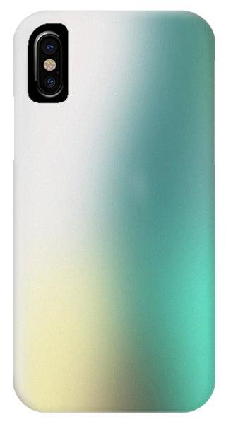 Aqua iPhone Case - A Fleeting Glimpse 2- Art By Linda Woods by Linda Woods