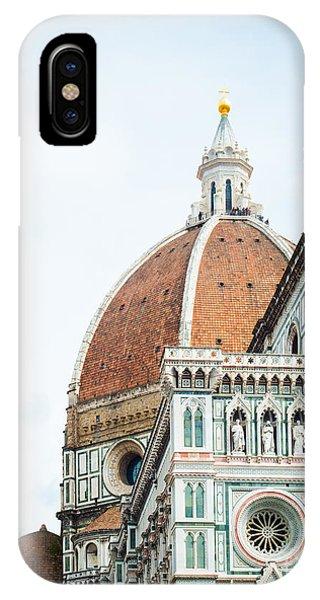 A Florence Duomo Peak IPhone Case