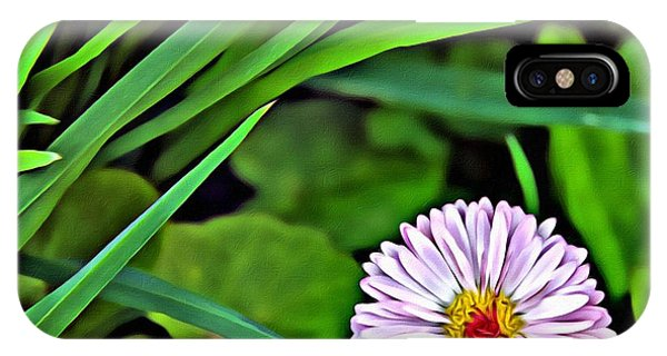 Simple iPhone Case - A Flower by Anna Finist