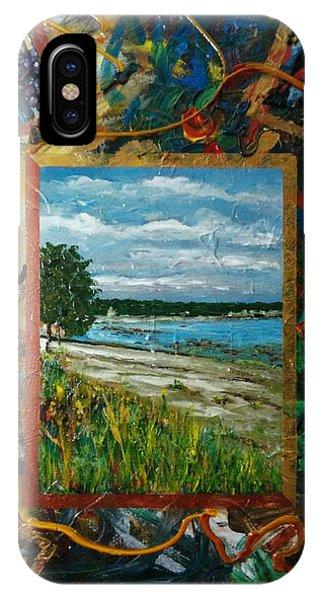 A Framed Landscape IPhone Case
