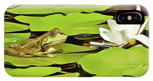 iPhone Case - A Frog's Peace by Harry Warrick