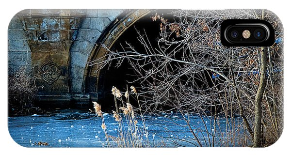 A Frozen Corner In Central Park IPhone Case