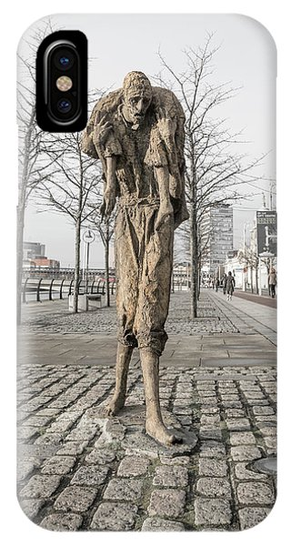 A Future History The Famine Sculpture IPhone Case