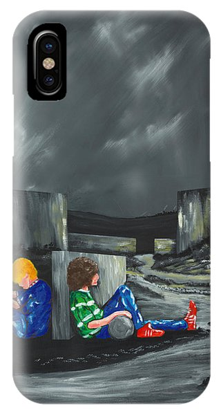 A Game Of Two Divides IPhone Case