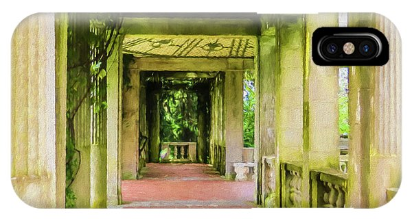A Garden House Entryway. IPhone Case