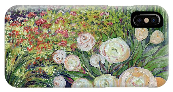 Impressionist iPhone Case - A Garden Romance by Jennifer Lommers