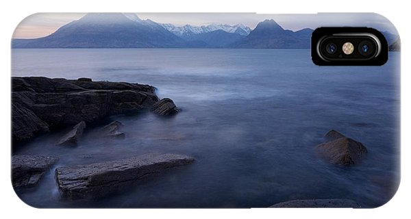 A Gentle Sunset At Elgol  IPhone Case